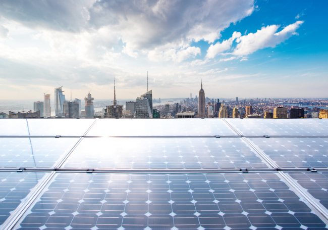 solar-panels-set-up-for-local-law-97